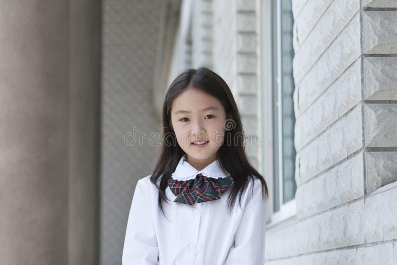Écolière élémentaire asiatique images stock