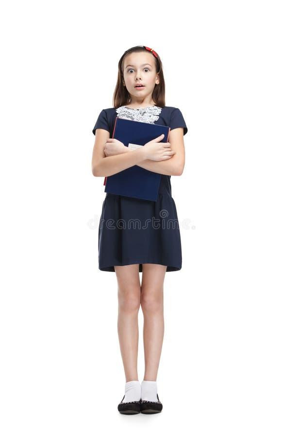 Écolière effrayée photo libre de droits
