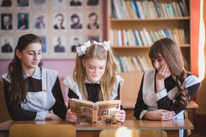 écolières photographie stock libre de droits