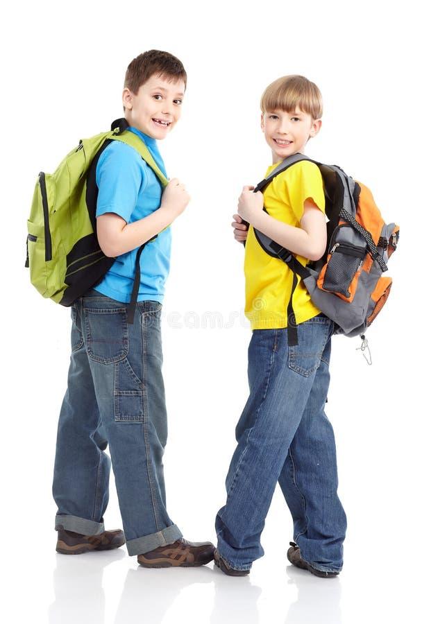 Écoliers photographie stock libre de droits