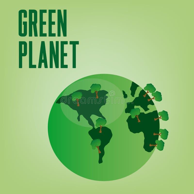 Download écologie illustration stock. Illustration du earth, continent - 45359173
