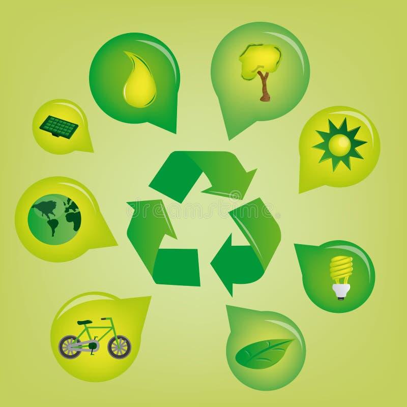 Download écologie illustration stock. Illustration du earth, global - 45359238