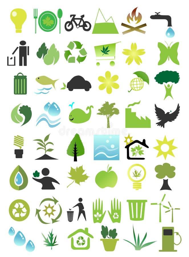 écologie illustration libre de droits