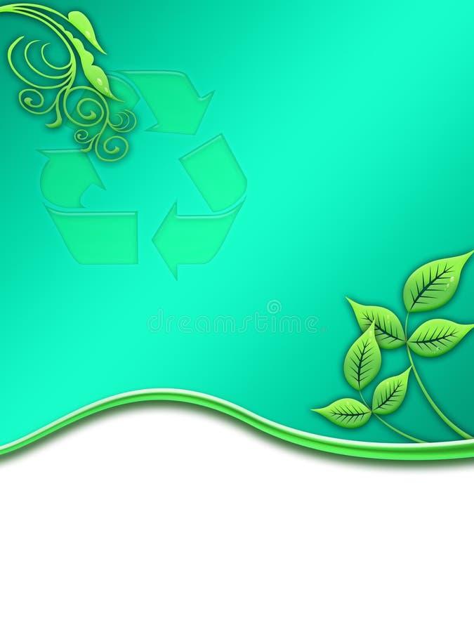 écologie de 02 caches illustration de vecteur