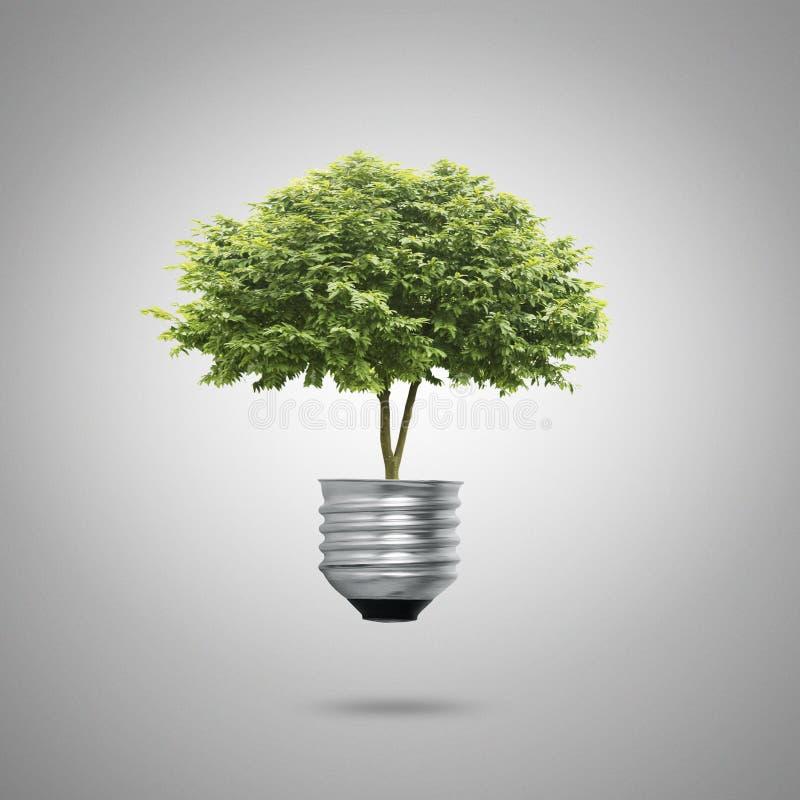 Écologie verte de symboles d'énergie photo libre de droits