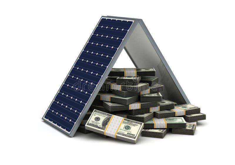 Économie d'énergie illustration de vecteur