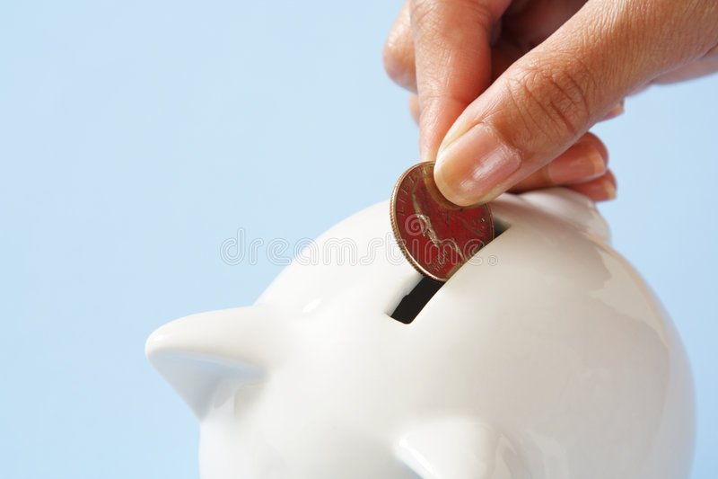 Économie d'argent images stock