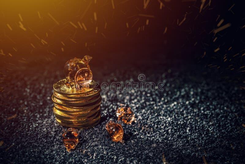 Économie de Bitcoin et concept d'investissement photographie stock