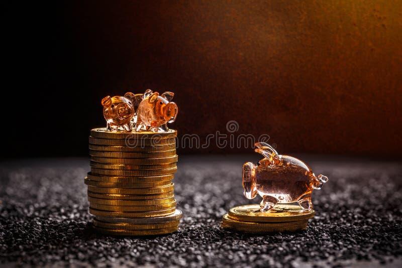 Économie de Bitcoin et concept d'investissement image stock