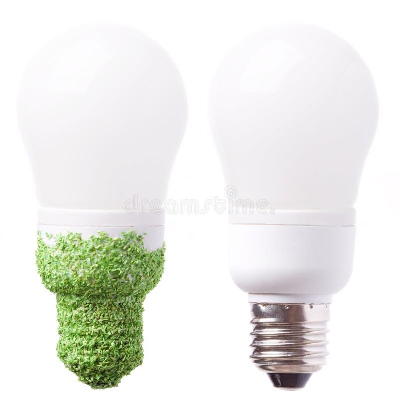 économie de lampe d'énergie photographie stock