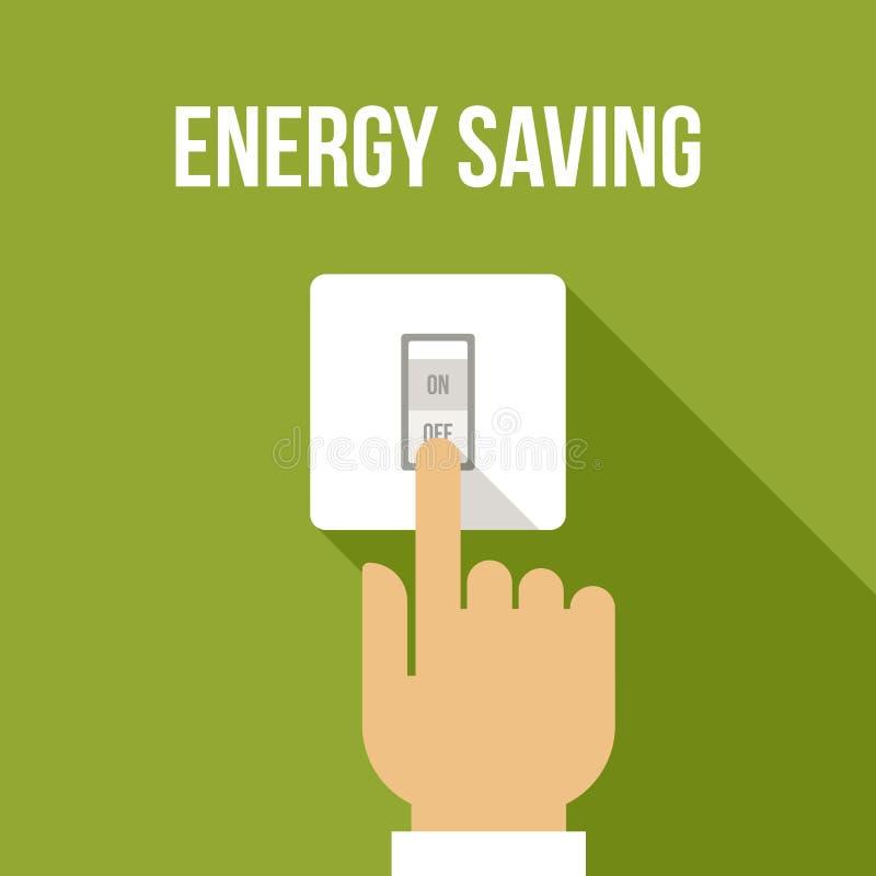 Économiseur d'énergie illustration de vecteur