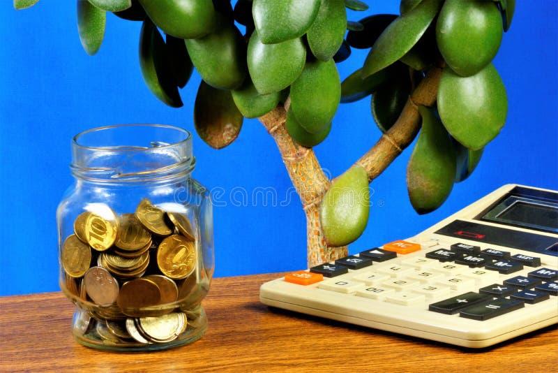 Économisez de l'argent, restez à la Banque Il est raisonnable de chercher des avantages, de planifier efficacement la gestion fin photo libre de droits
