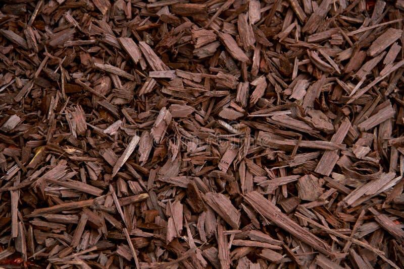 Écorce décorative de Brown de paillis images stock