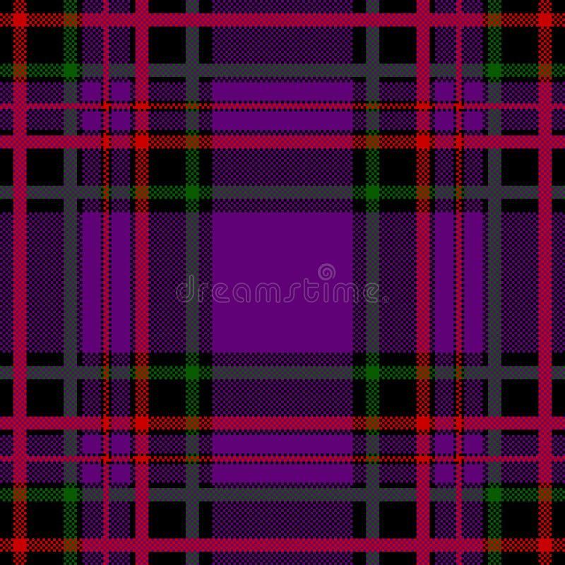 écossais de configuration illustration libre de droits