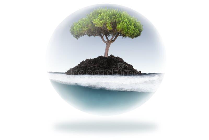 Écosystème illustration de vecteur