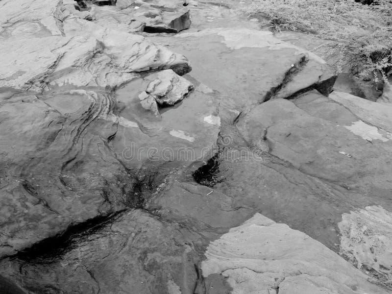 Écoulement d'eau photo libre de droits