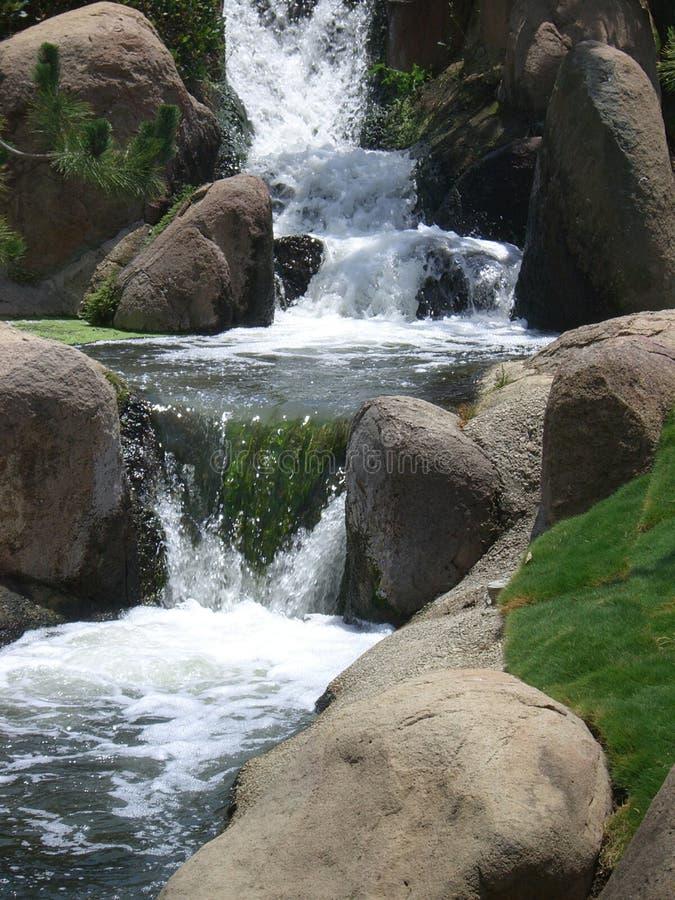 Écoulements d'eau photographie stock libre de droits