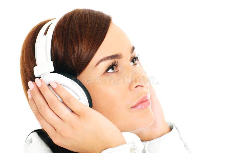 Écouter la musique images libres de droits