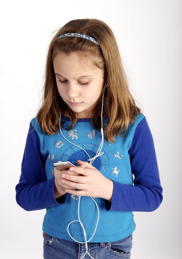 Écouter sa musique image libre de droits