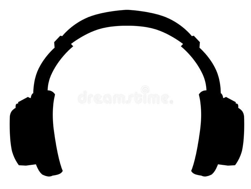 Écouteur illustration libre de droits
