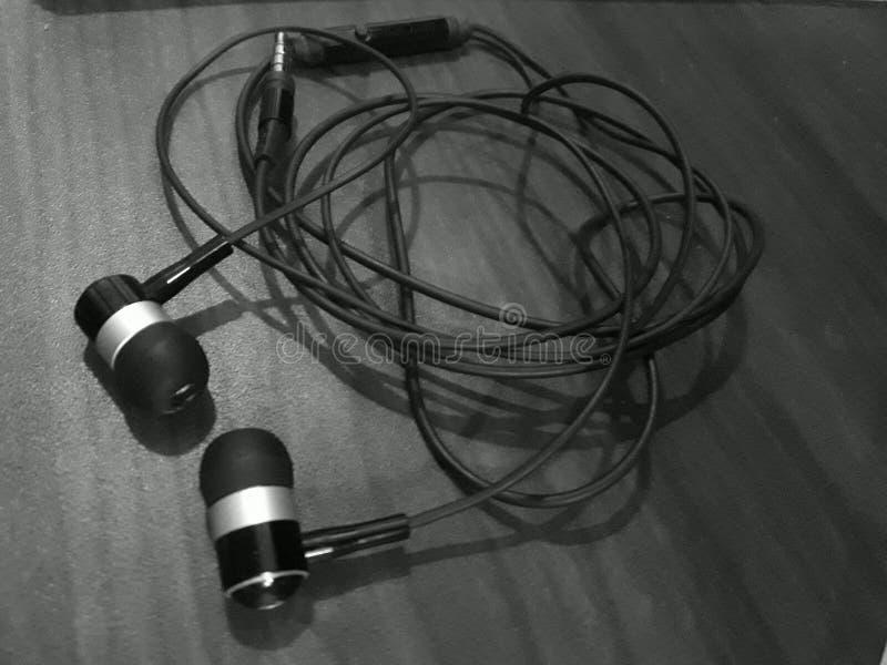 écouteur photo stock