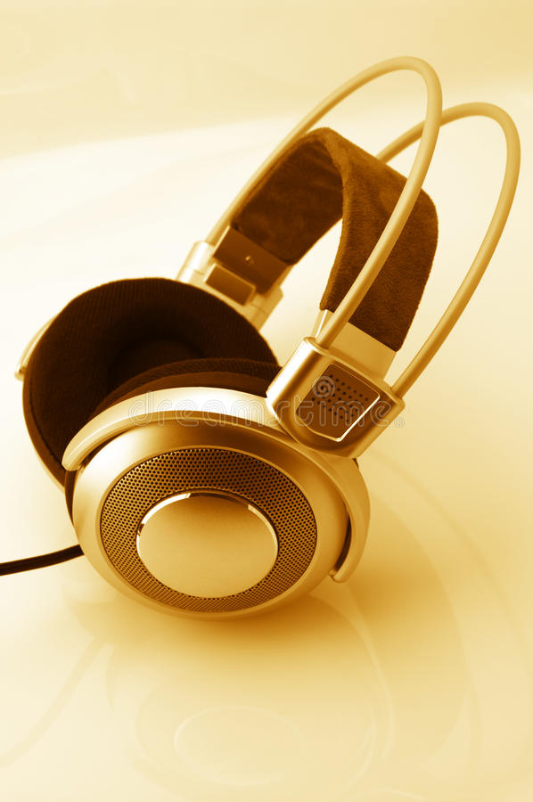 Écouteurs images libres de droits