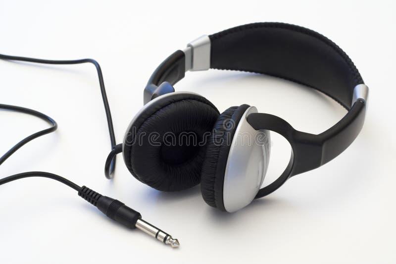 Écouteurs. image libre de droits