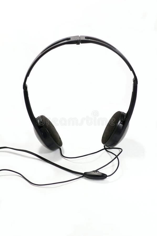 Écouteurs photo libre de droits