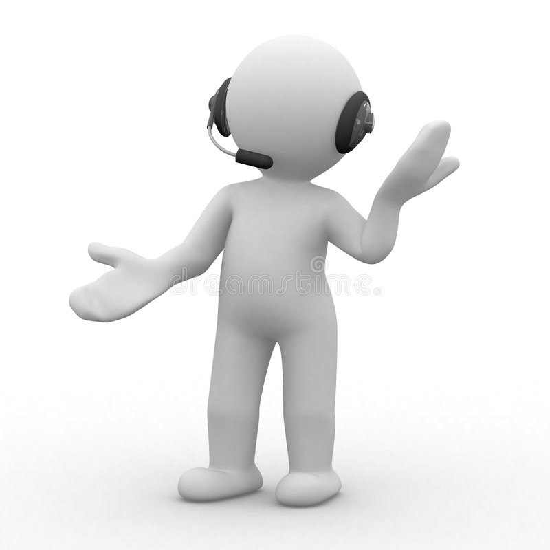 Écouteurs illustration de vecteur
