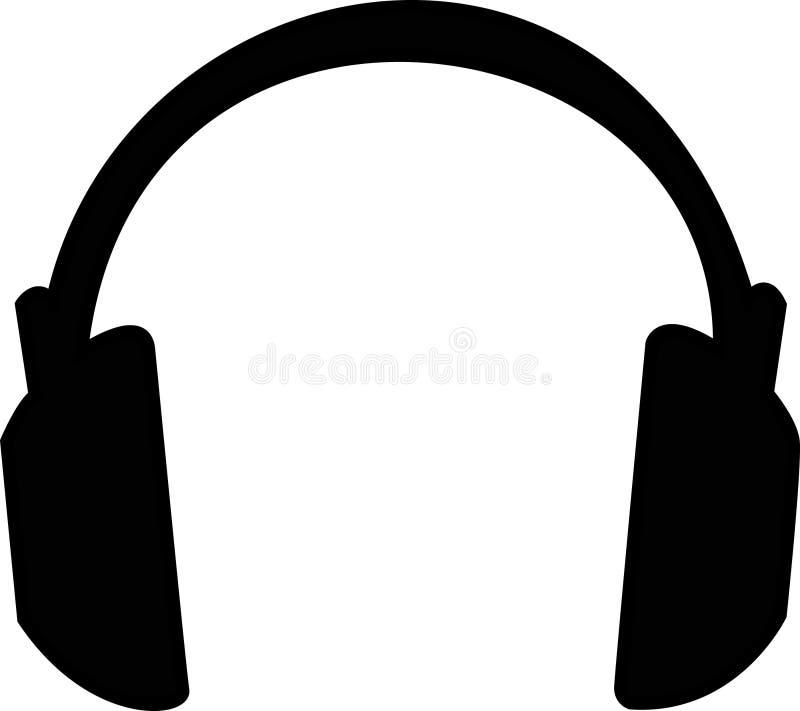 Écouteurs illustration stock