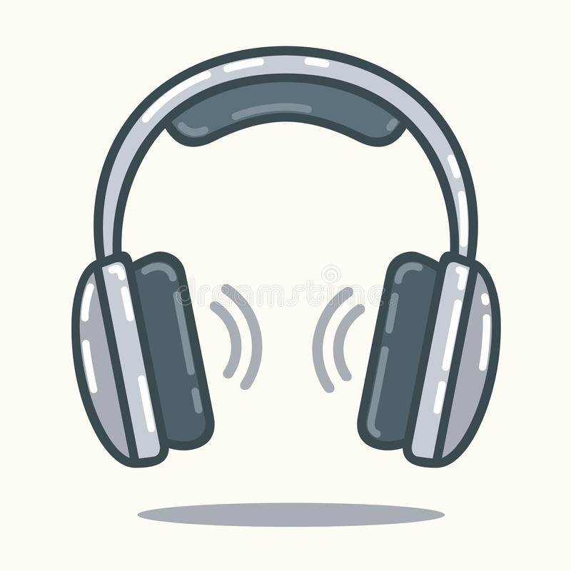 Download Écouteurs Dans Le Style Plat Illustration de Vecteur - Illustration du supplémentaire, objet: 45366993