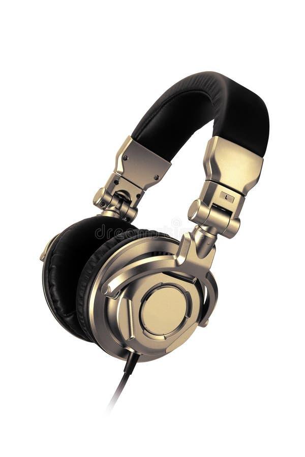 Écouteurs professionnels photo stock