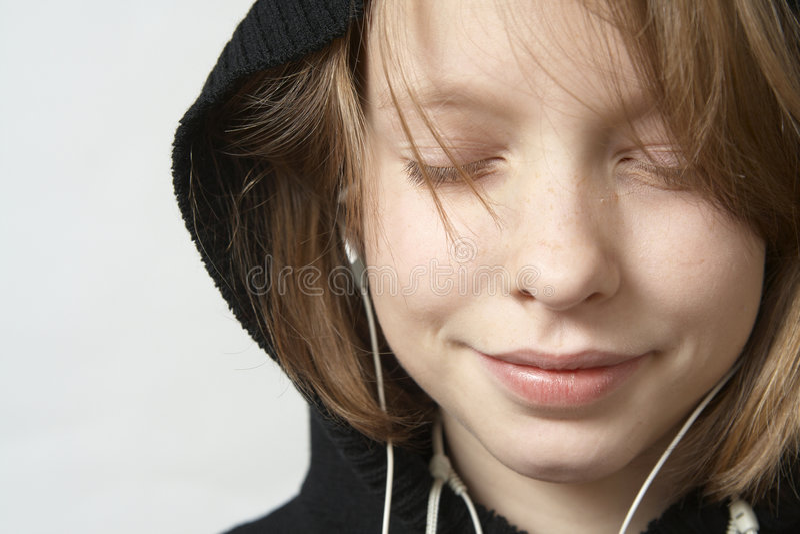 Écoutez la musique photos libres de droits