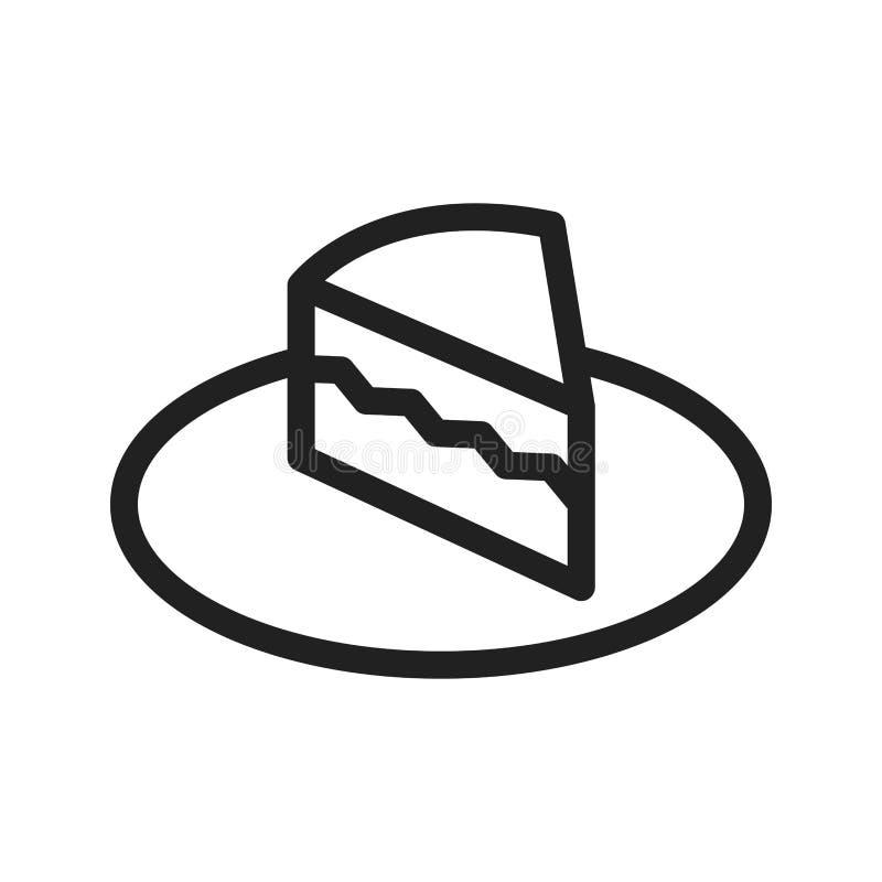 Écrémez le gâteau illustration libre de droits