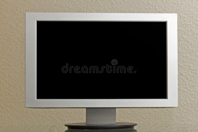 Écran d'affichage à cristaux liquides de Tft plat photo libre de droits