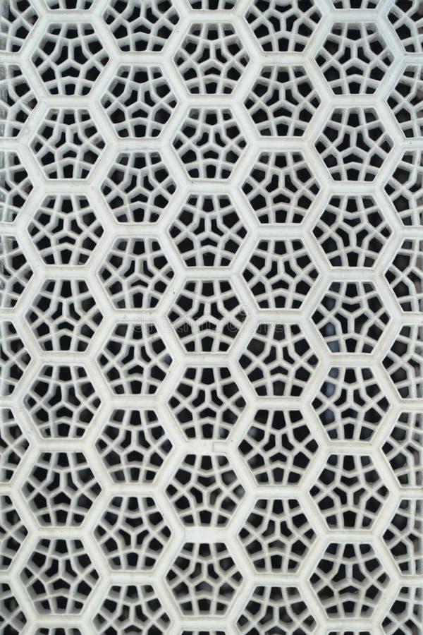 Écran de marbre blanc images libres de droits
