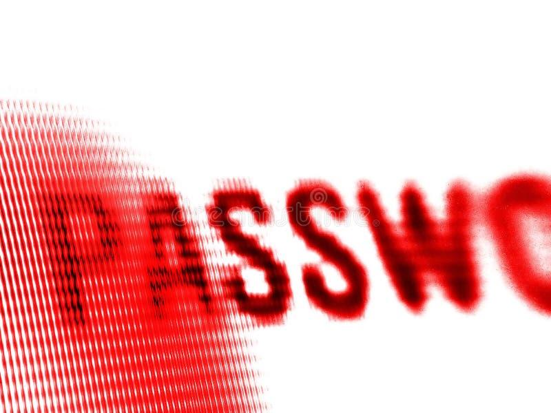 Écran de mot de passe photos stock