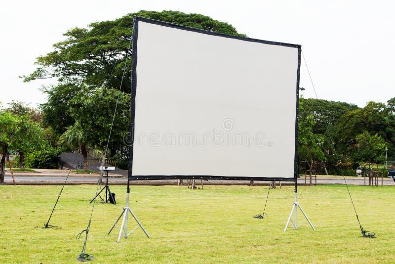 Écran de projection photo libre de droits