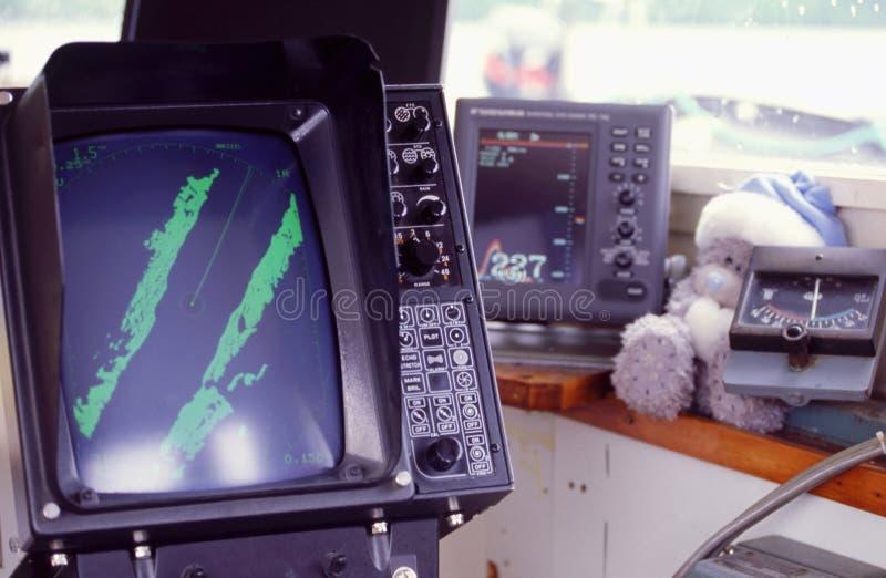 écran de radar photographie stock libre de droits