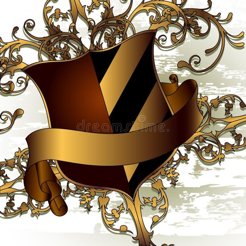 Écran protecteur décoratif illustration de vecteur