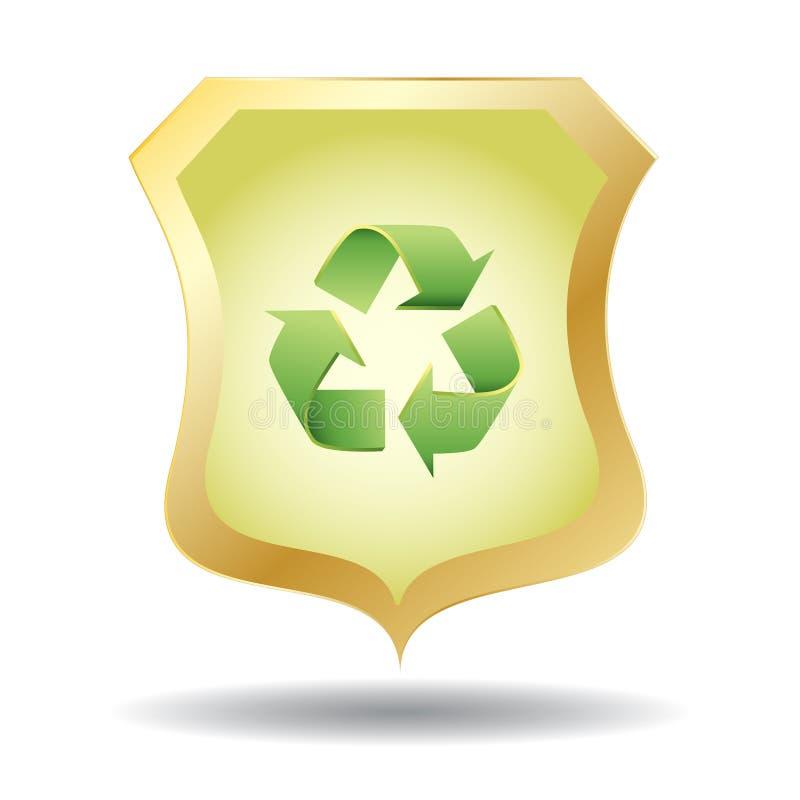 Écran protecteur d'Eco illustration libre de droits