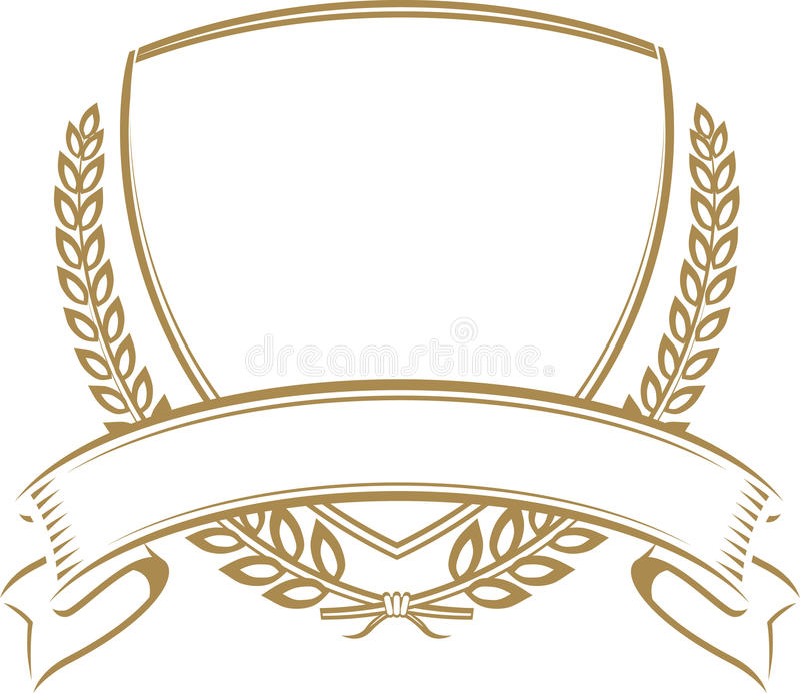 Écran protecteur de blé illustration stock