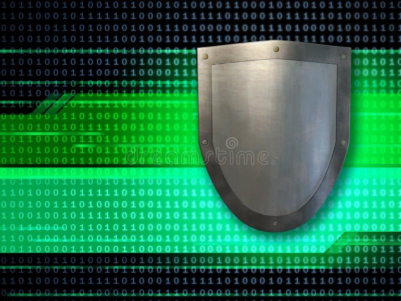 Écran protecteur de données photographie stock libre de droits