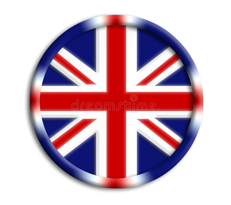 Écran protecteur de l'Angleterre pour des Jeux Olympiques illustration libre de droits