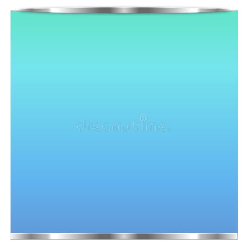 Écran réaliste de TV Panneau élégant moderne d'affichage à cristaux liquides, type de LED Maquette d'affichage de moniteur de gra illustration stock