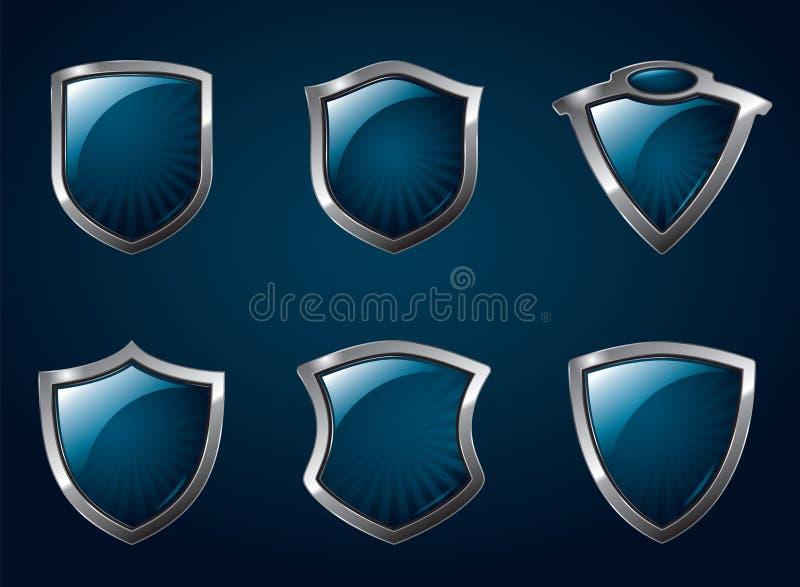 Écrans protecteurs illustration stock