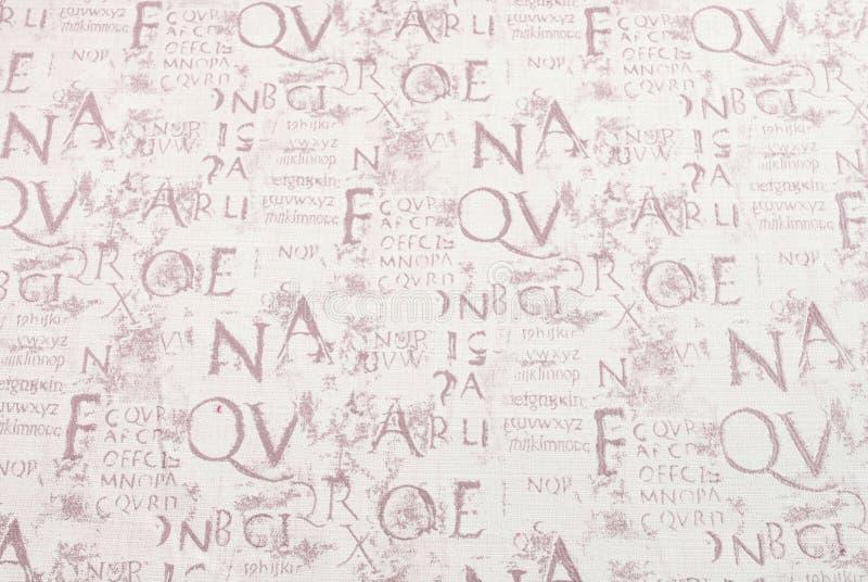 Écriture abstraite image libre de droits
