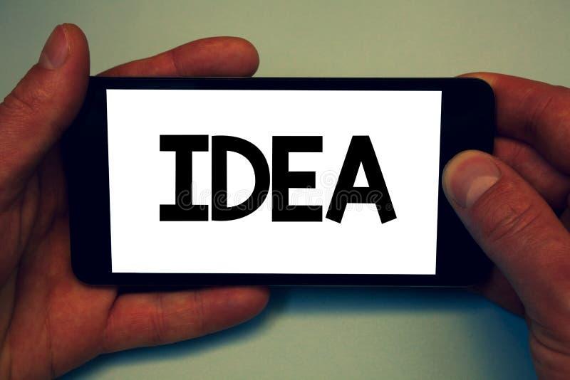 Écriture conceptuelle de main montrant l'idée Photo d'affaires présentant les solutions de pensée innovatrices créatives de plani illustration libre de droits