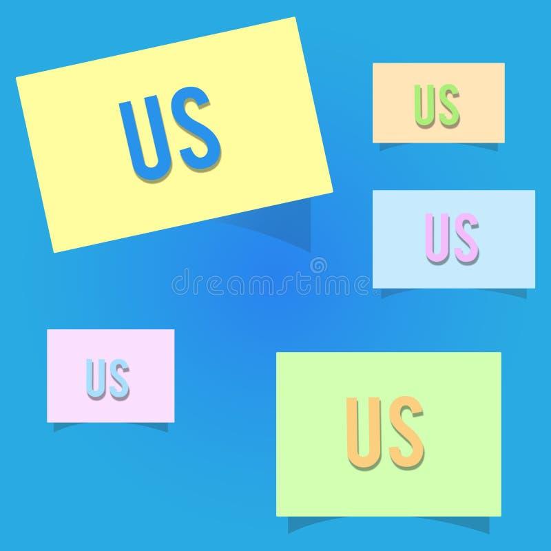 Écriture conceptuelle de main nous montrant Photo d'affaires présentant l'information requise pour contacter quelqu'un utilisatio illustration stock