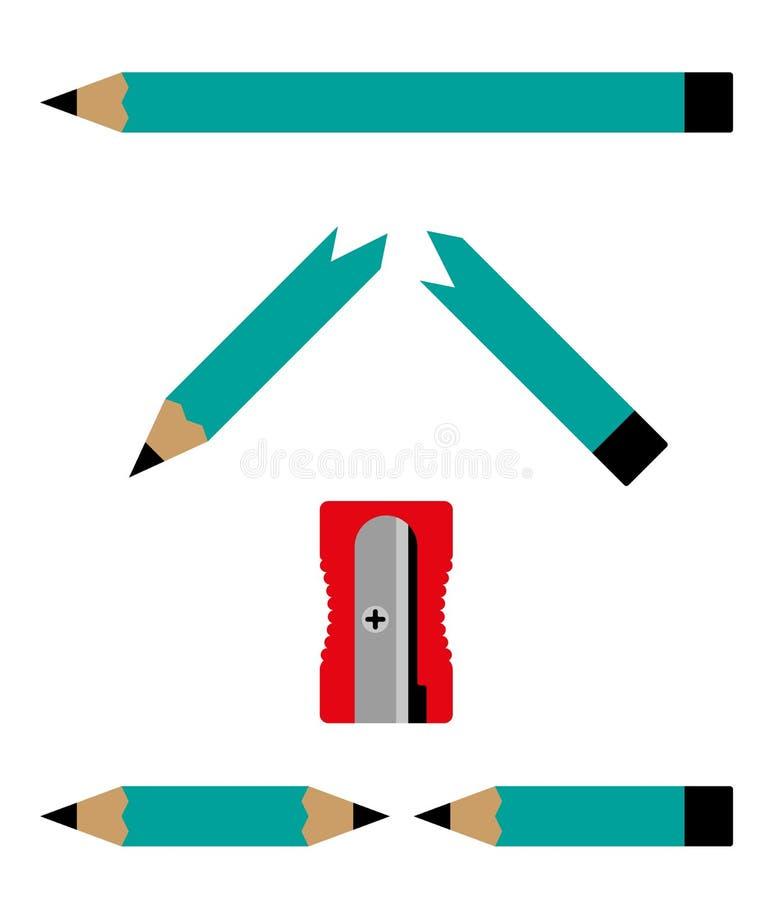 Écriture d'homme d'affaires avec un stylo feutre illustration stock